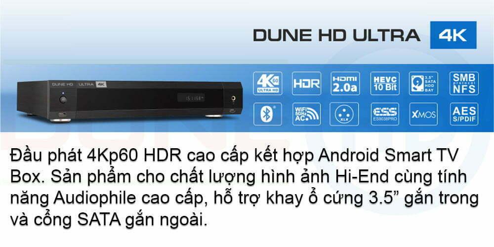 Dune HD Ultra 4K (Banner) | Dune HD Việt Nam
