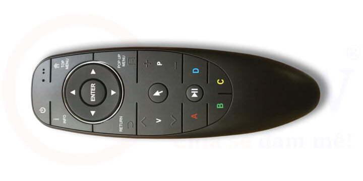 Điều khiển chuột bay Bluetooth Dune HD | Phụ kiện | Dune HD Vietnam