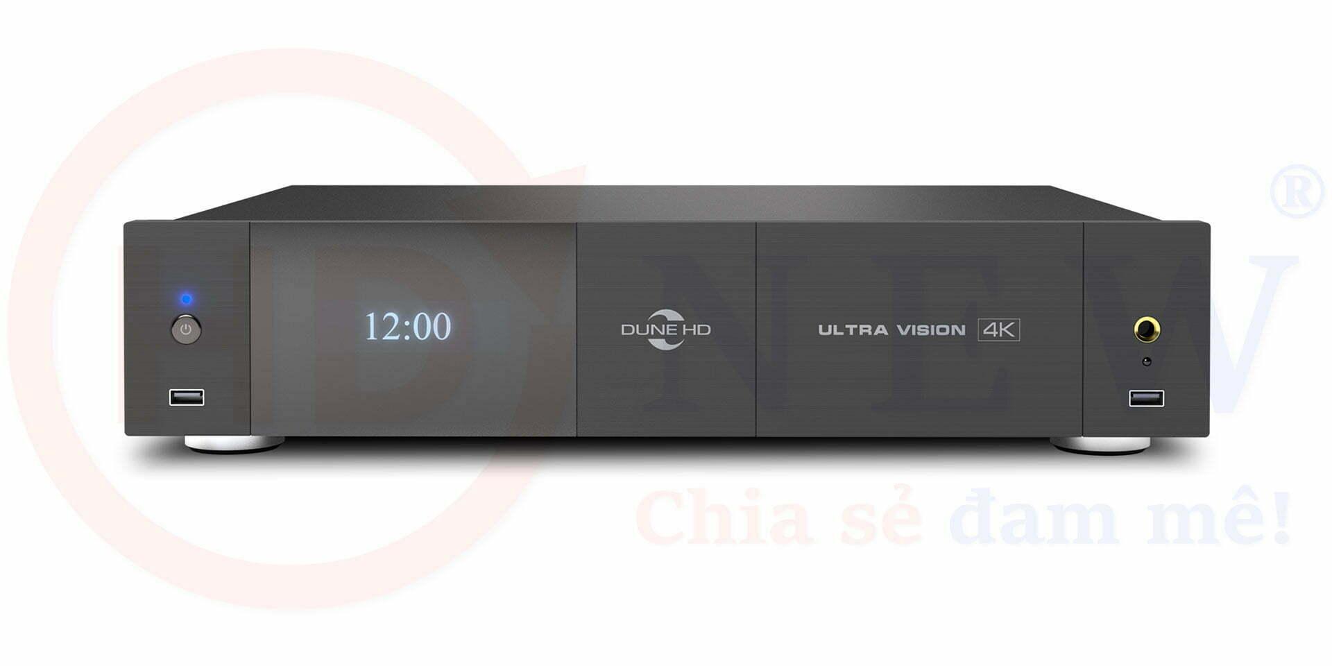 Dune HD Ultra Vision 4K đã chính thức lộ diện: nhiều cải tiến đáng chú ý! | HDnew - Chia sẻ đam mê